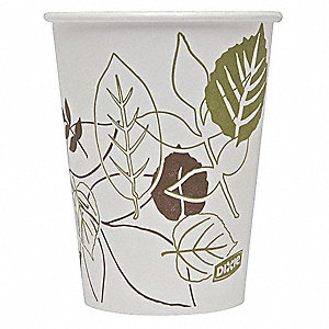 21 oz. Disposable Cold Cup, Polyethylene Paper, White, PK 1200