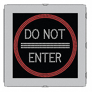 LED Traffic Sign,Do Not Enter