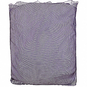 "Heavy Weight Polyester, Open Top Mesh Laundry Bag, 40"" L X 30"" W, Purple"