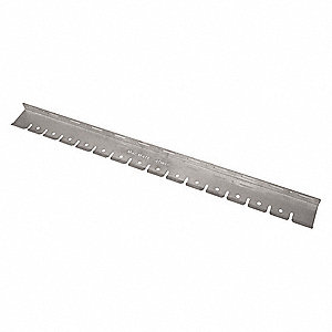 Air Tool Holder Rack,48 in.Lx1/4 in.Slot