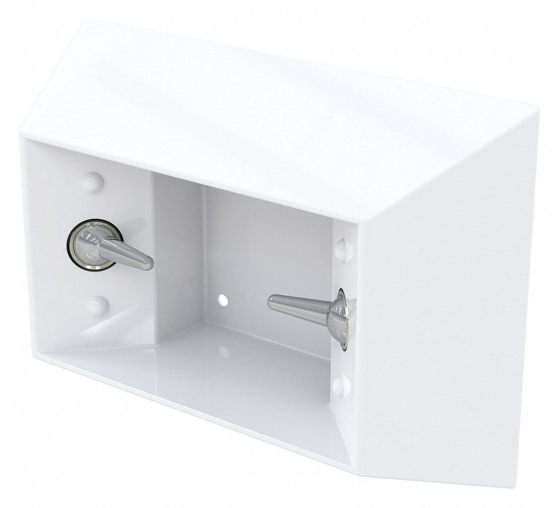 Roll 1 BESTCARE WH1840FA Toilet Paper Holder, White