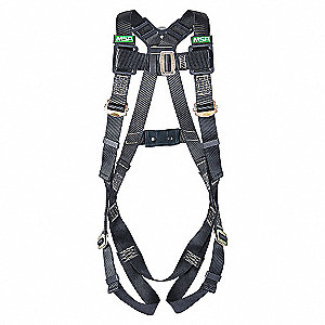 ARC FLASH VEST HARNESS BACK D SXL