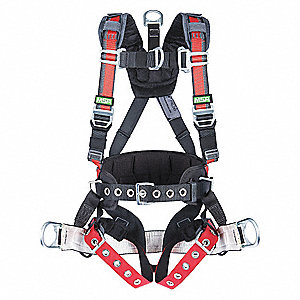 DERRICK HARNESS EVO NYLON SADDL XSM