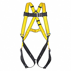 STAINLESS STEEL HARNESS BACK-D STD