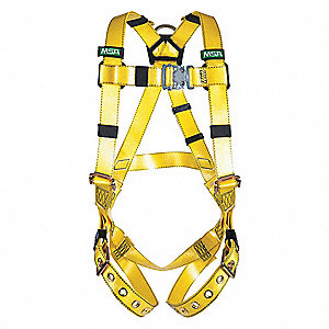COATED WEB HARNESS BACK D-RING STD