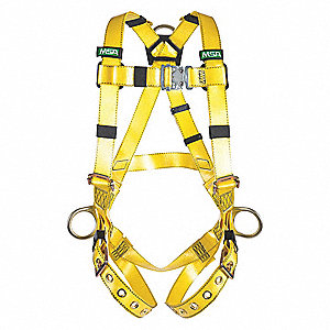 COATED WEB HARNESS BACK +HIP D XLG
