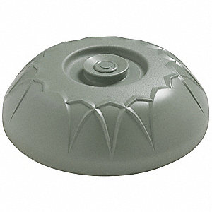 Insulated Dome,10 In,Sage,PK12