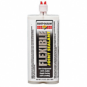 Gray Flexible Joint Sealant, 22 oz. Dual Cartridge, Coverage: 13.3 sq. Ft.