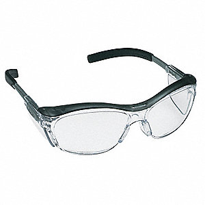 Nuvo  Anti-Fog Safety Glasses, Clear Lens Color