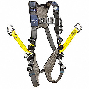 L Harness, 6000 lb. Tensile Strength, 420 lb. Weight Capacity, Blue