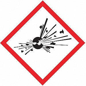 Label,Exploding Bomb,1x1In,Poly,250 Roll