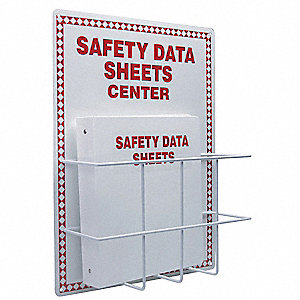 Safety Data Sheets Center Kit,20x15 In