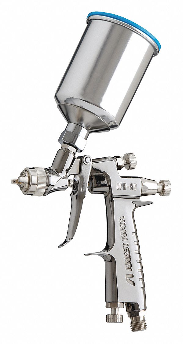 0.7 cfm @ 10 psi HVLP Spray Gun; For Use With Gravity Cup