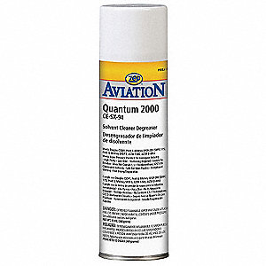 Unscented Aircraft Cleaner/Degreaser, 20 oz. Aerosol Can, Package Quantity 12