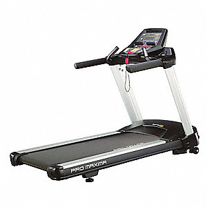 "84"" x 35"" x 57"" Treadmill with 0.5 to 12 mph Speed Range&#x3b; Includes 9 Programs, Console Cooling Fans"