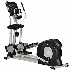 "80"" x 25"" x 65"" Elliptical with Resistance Hybrid Control Drive System and 400 lb. Max. Weight"