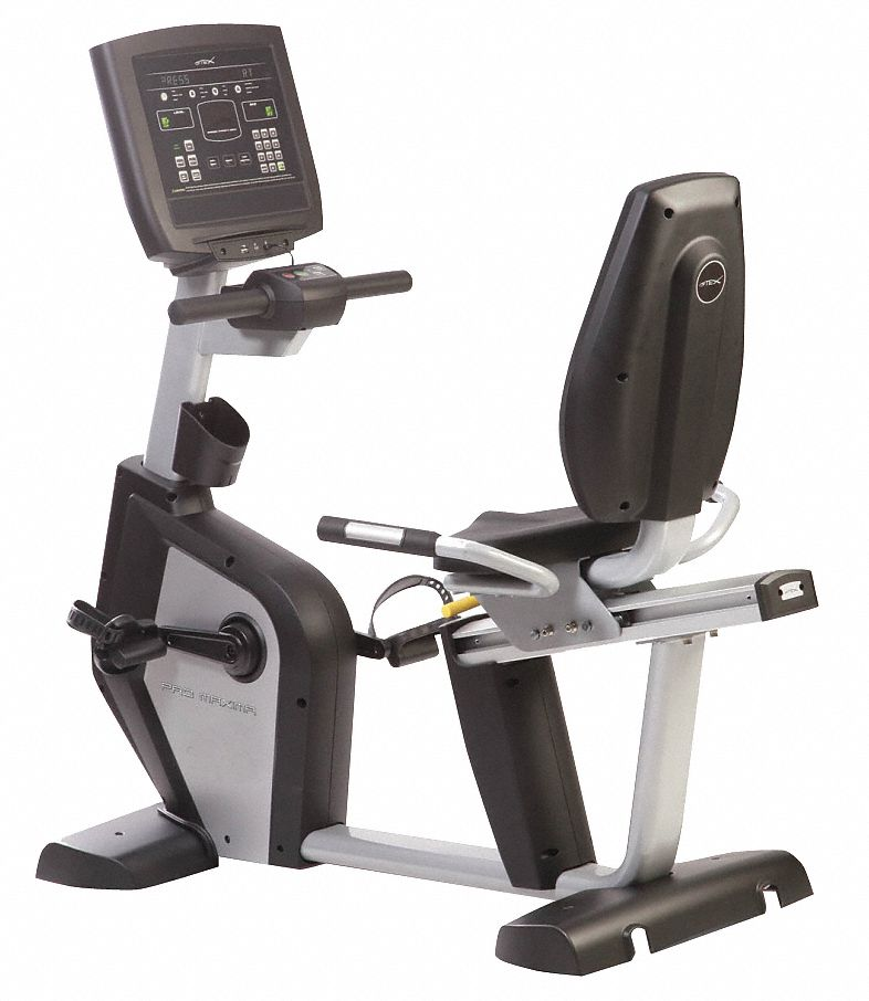 Recumbent Bike,  Self Powered Alternator,  25 Levels,  56 in Height,  58 in Length