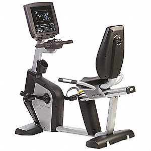 "58"" x 28"" x 56"" Recumbent Bike with Self Powered Alternator Drive System and 400 lb. Max. Weight"