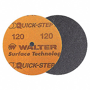 DISC QUICKSTEP XX 5IN GR120 W/PAD