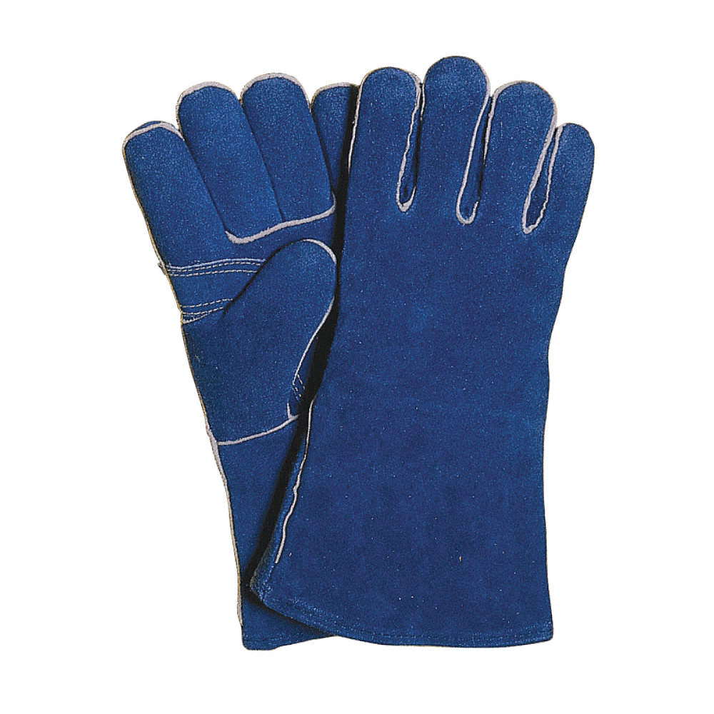 Welding Gloves, Gauntlet Cuff, Cowhide Leather Palm Material, Cowhide Glove  Back Material