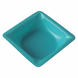 Weighing Dish,Blue,5/16in.D,PK500