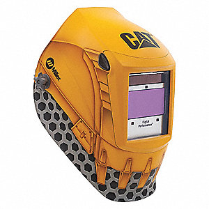 "Digital Performance Series, Auto-Darkening Welding Helmet, 5 to 13 Lens Shade, 3.82"" x 1.85"" Viewing"