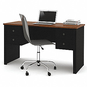 Office Workstation,Tuscany Brown/Black