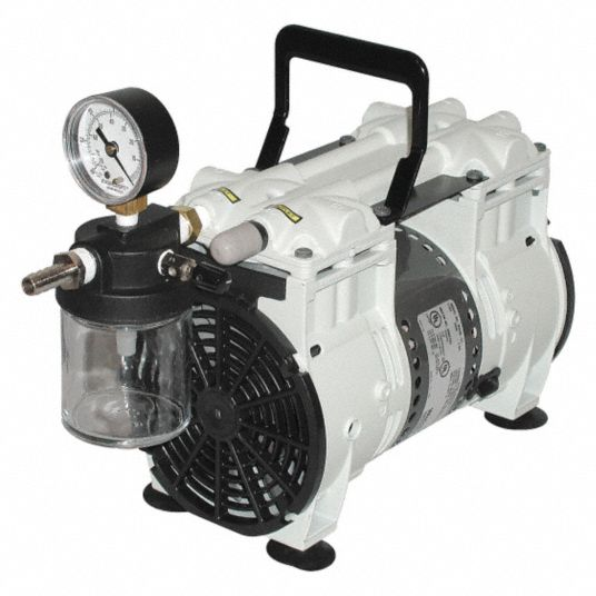 1/3 hp HP Piston Vacuum Pump, 115V AC
