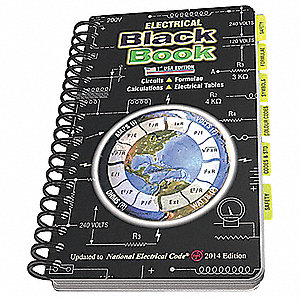 Reference Book, English, Electrical, 4 in.W