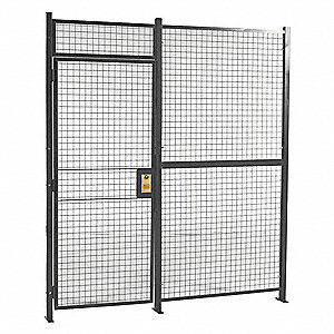 Woven Part Cage,30ft10inWx10ft5-1/4inH