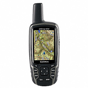 "2.4"" x 1.4"" x 6.3"" GPS, Black/Gray"