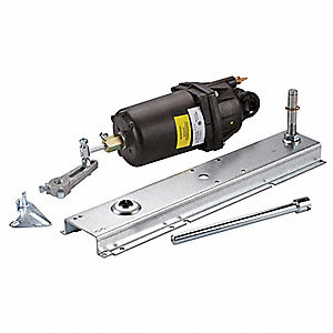 "11"" x 4"" x 11"" Pneumatic Actuator, 8 to 13 psi, 3"", Includes: Auxiliary Mounting Bracket"