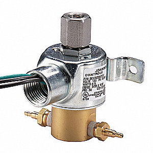 Solenoid Air Valve,3-Way,120VAC,0-25 psi