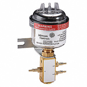 Air Switching Valve,3-Way,15 to 19 psi