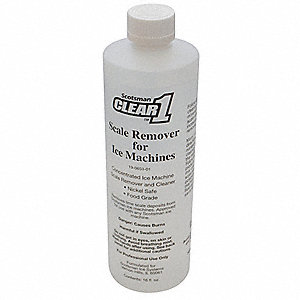 Ice Machine Cleaner,16 oz.,Clear,PK12