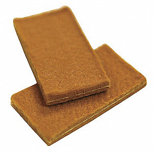 Cleaning Pads,1.8 x 0.9 x 0.15 In,PK10
