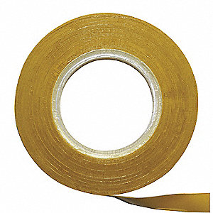Chart Tape,1/4 In W x 27 Ft L,Yellow