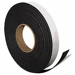 Adhesive Magnetic Strip,50ft L x 1in W