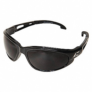 Dakura Scratch-Resistant Safety Glasses, Smoke Lens Color
