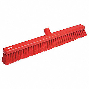 "Synthetic Sweeping Broom, 24"" Sweep Face"
