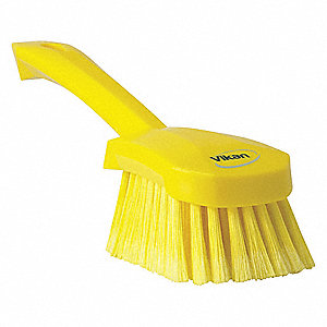 Scrub Brush,Polyester,Short Handle