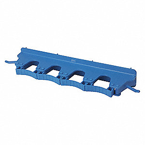 Tool Wall Bracket,Poly,Blue,17-1/2 in