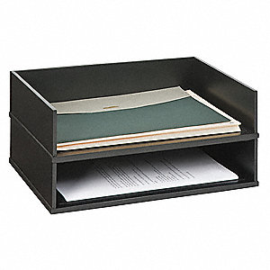 Stacking Letter Tray,Black
