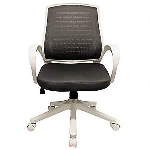 "Black Foam Desk Chair, 39-7/8"" Overall Height"