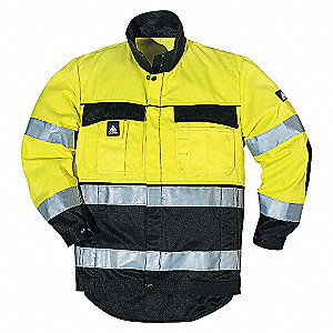 JACKET HI-VIS Y/BLK-XL