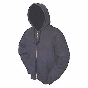 FR Hooded Sweatshirt,Dark Navy,L