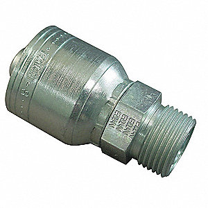 Hose,Crimp Fitting,5/8 in,-10,2.26L