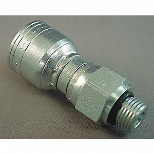 Hose,Crimp Fitting,1/4 in,-4,2.52L