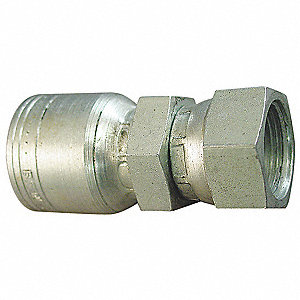 Hose,Crimp Fitting,1/2 in,-8,1.57L