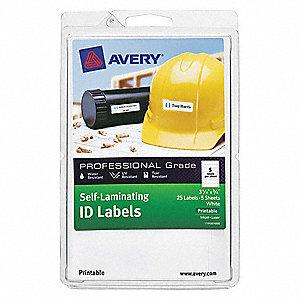 avery label 3 1 4 x3 4 5 lbls per sheet pk10 38yv58 00760